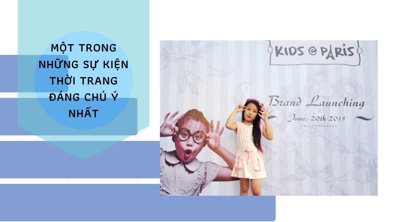 Cô nhóc Minh Anh – The face kids 2014 cực dễ thương trong chiếc váy của Kids@Paris.