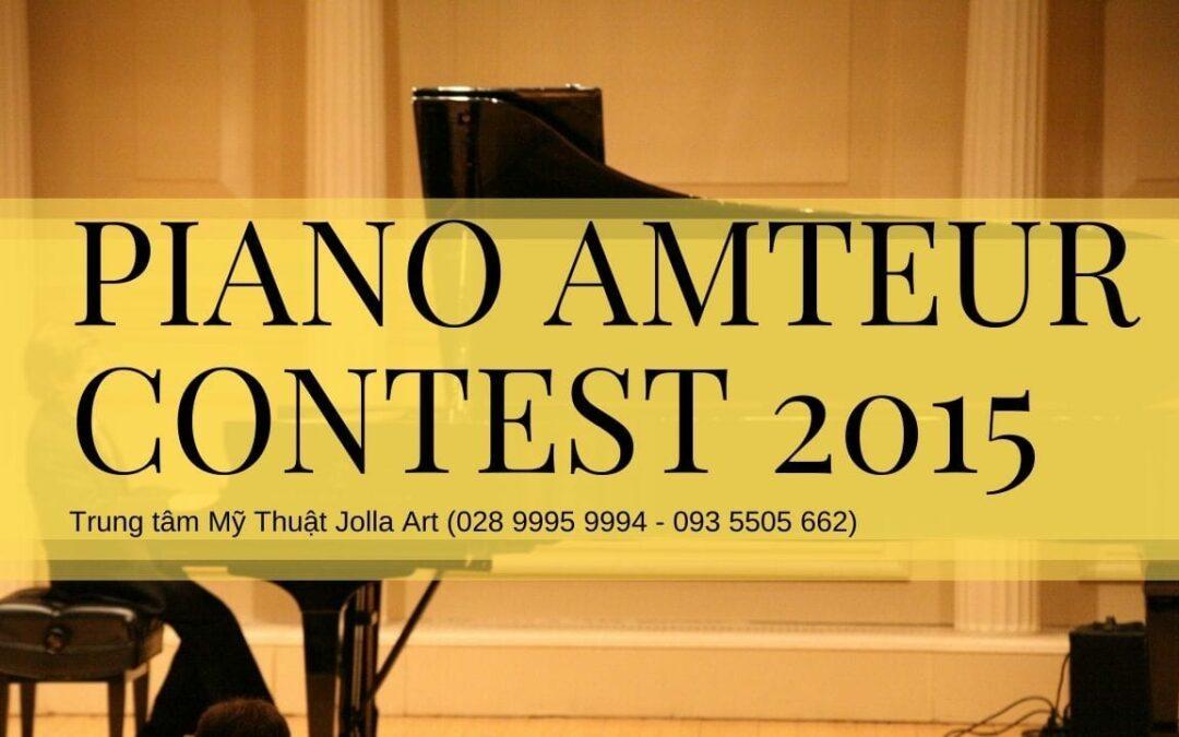 Cuộc thi Piano Amateur 2015