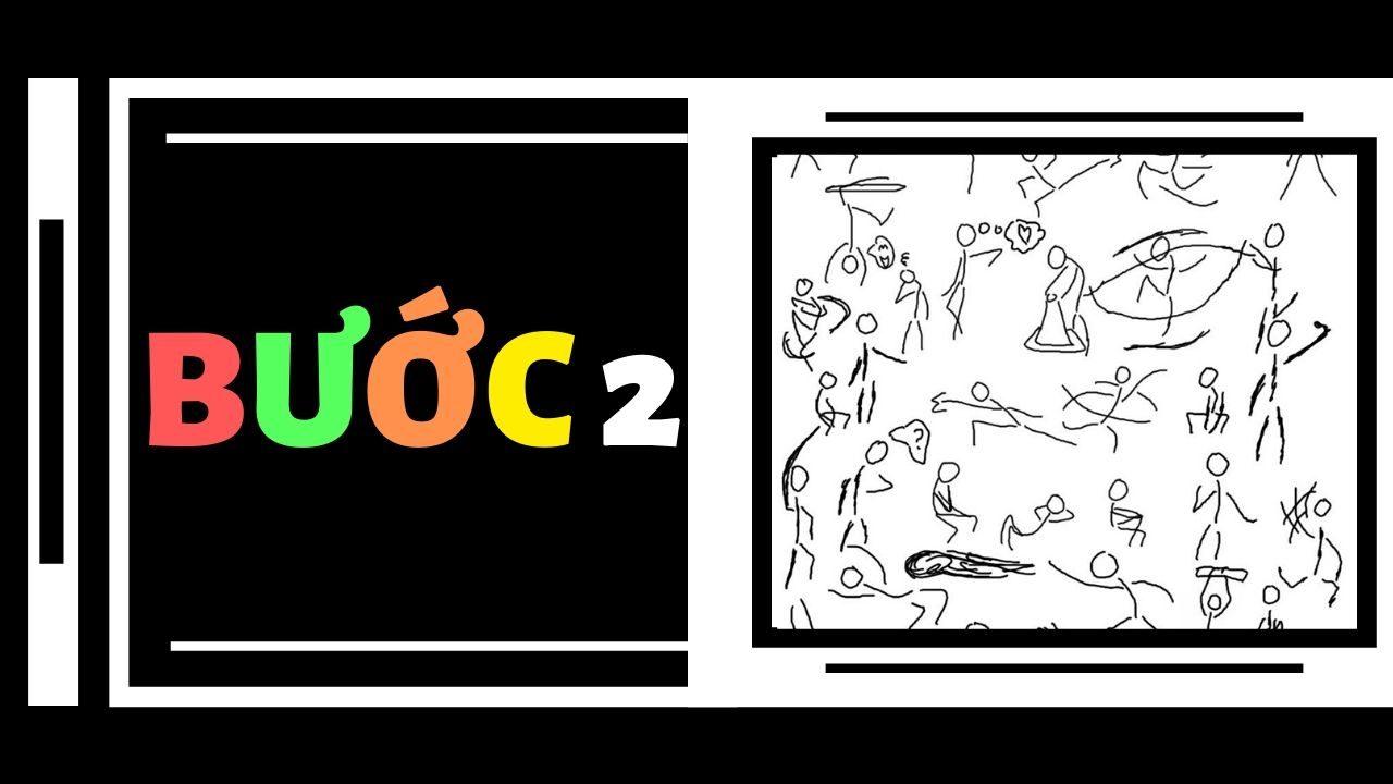 Vẽ kí họa người : Bước 2