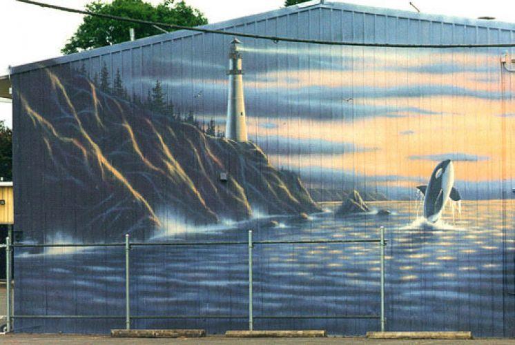 5 - Vẽ Tranh Tường Ngoài Trời