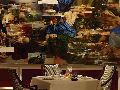 Apsleys mural - Vẽ Tranh Tường Nhà Hàng Bar