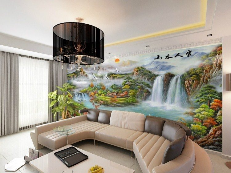 Custom mural wall bedroom TV background wallpaper the living room sofa 3d wallpaper European painting cornucopia - Vẽ Tranh Tường Phòng Khách