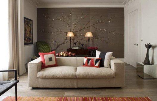 Exotic Cheery Blossom Murals Art 527x340 - Vẽ Tranh Tường Phòng Khách