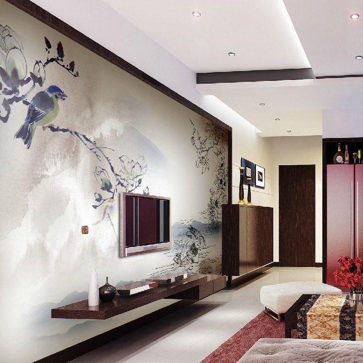 Gorgeous Canvas Wall Murals - Vẽ Tranh Tường Phòng Khách