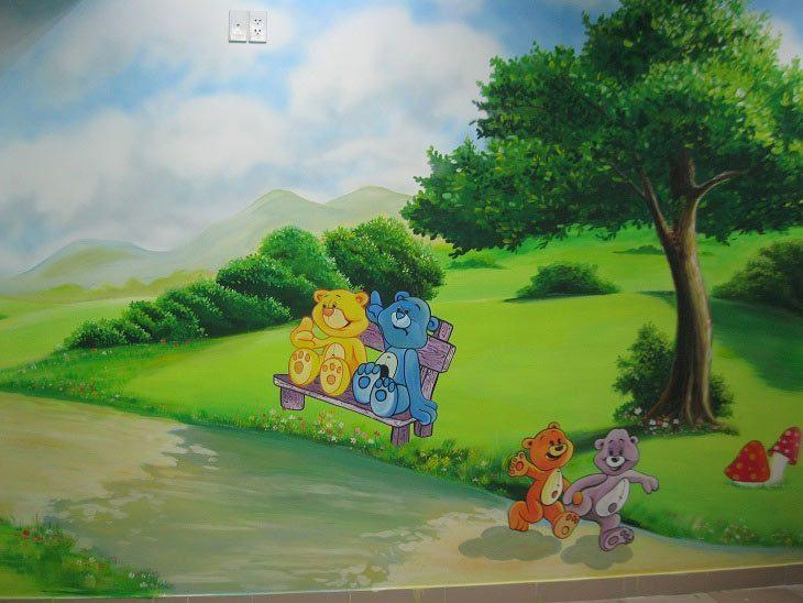 IMG 0565 - Vẽ Tranh Tường Phòng Bé