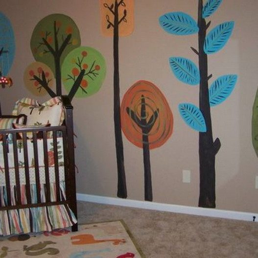 Love-the-Trees-Murals-for-Bedroom-Design-Ideas-527x527