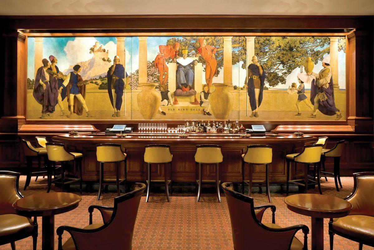 New York Mural - Vẽ Tranh Tường Nhà Hàng Bar