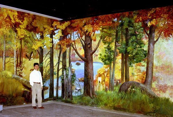 Public-Forest-Wall-Murals