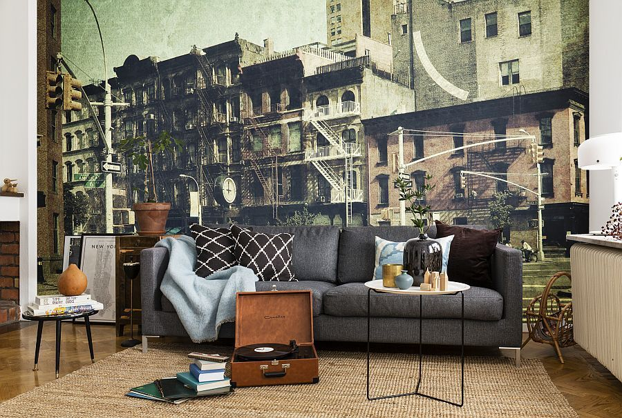 Sixth-Avenue-wall-mural-in-the-living-room