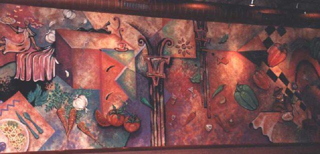 Slice - Vẽ Tranh Tường Quán Cafe