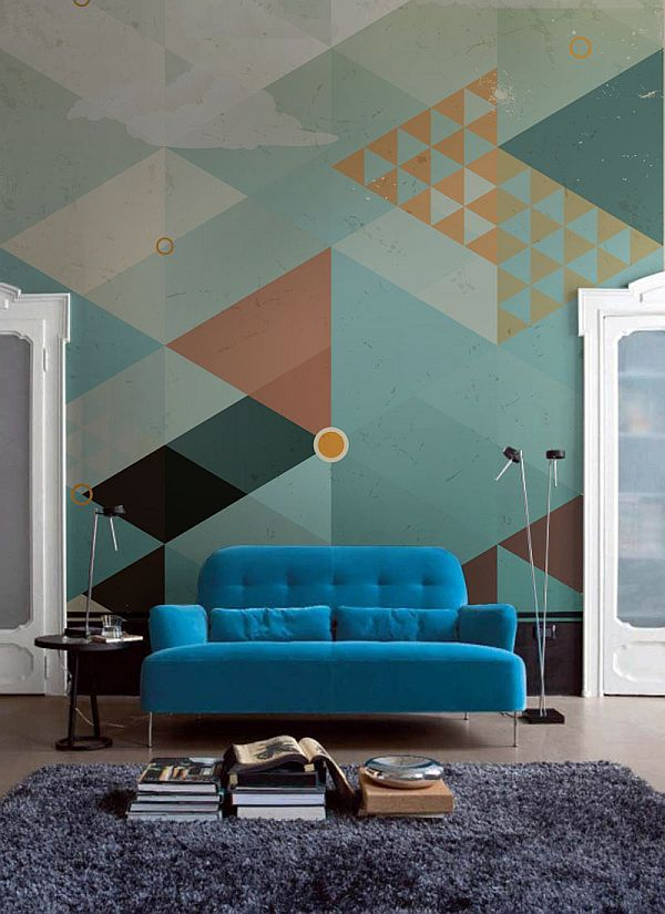 geometric-turquoise-wall-mural