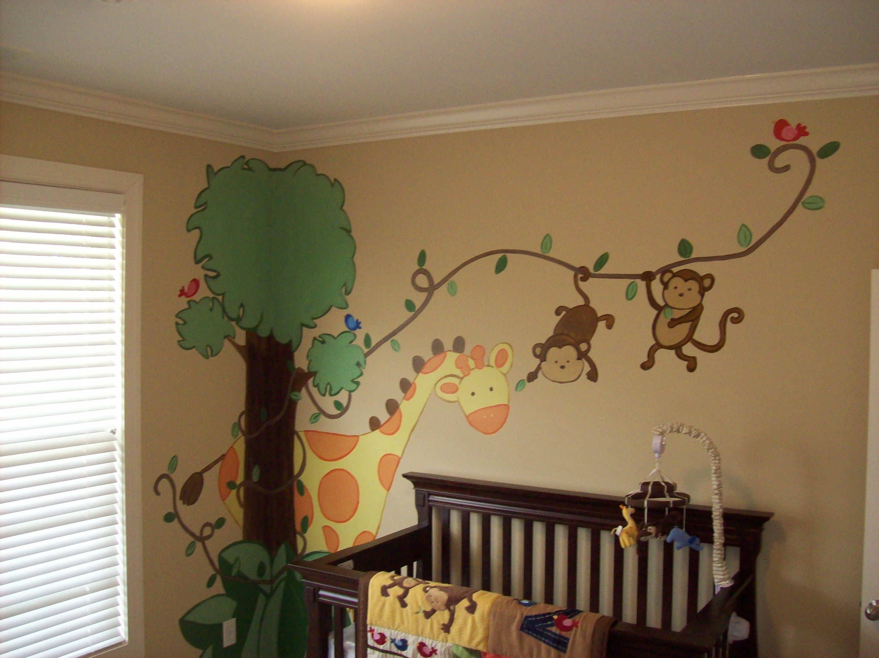 jungle baby loganville ga - Vẽ Tranh Tường Phòng Bé