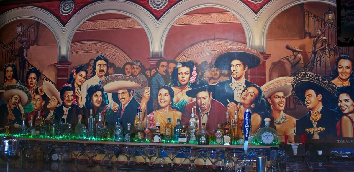 mural10 - Vẽ Tranh Tường Nhà Hàng Bar