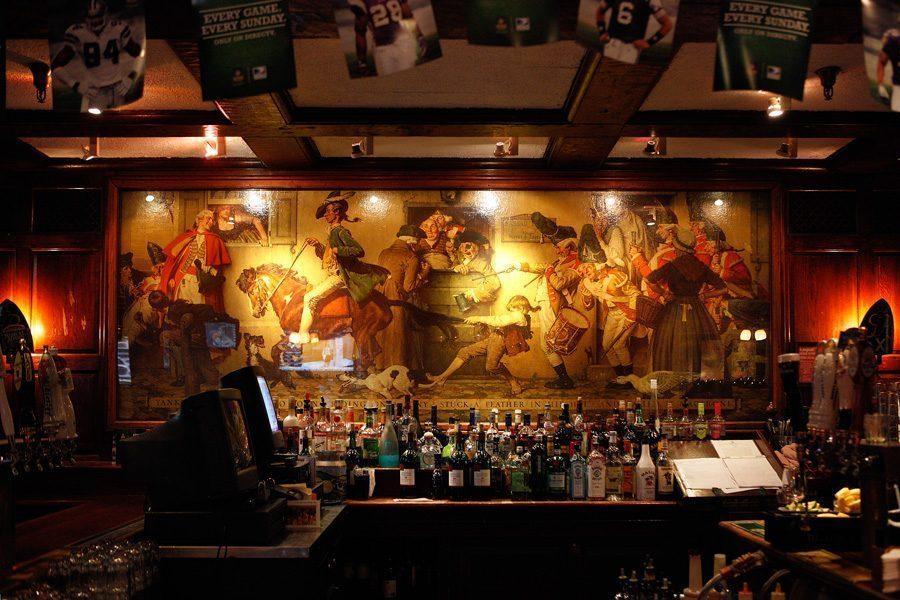 rockwell mural - Vẽ Tranh Tường Nhà Hàng Bar
