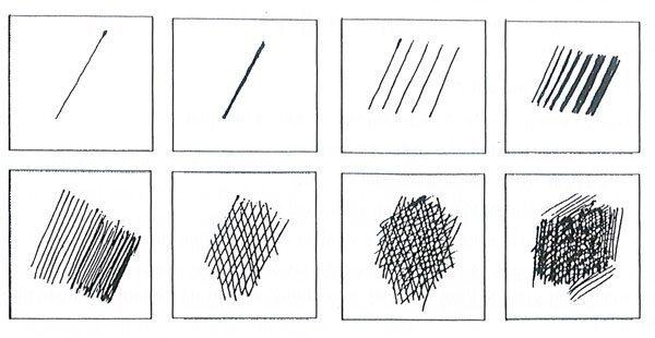 Phương pháp diễn tả sắc độ của bút chì