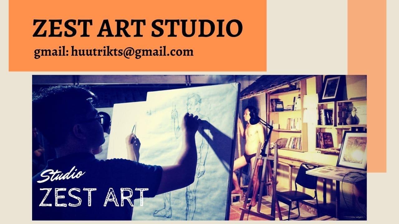 Trung tâm dạy vẽ Zest art