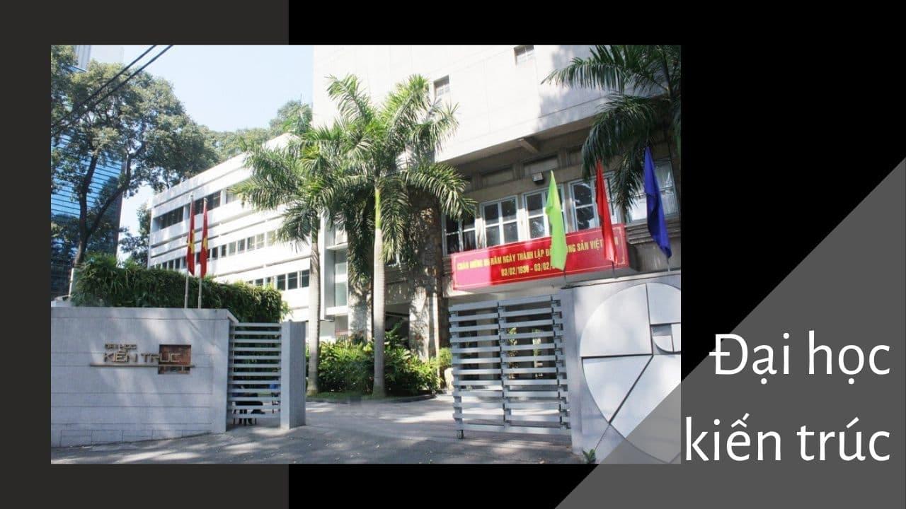 đại học kiến trúc TPHCM