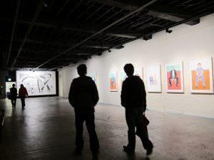 1 david hockney 300x225 - Xem David Hockney vẽ chân dung bằng máy tính