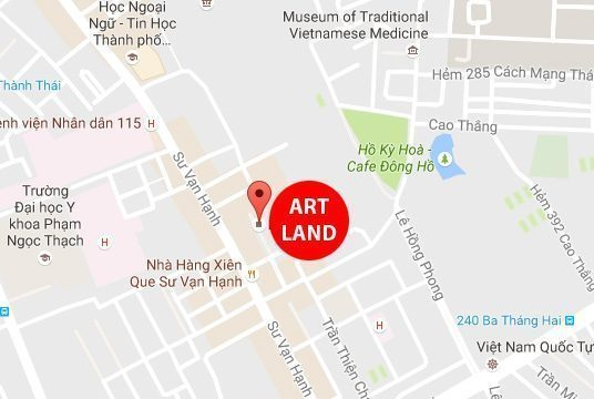 ART LAND Q 10 536x360 - Trung Tâm Đào Tạo Mỹ Thuật Art Land Quận 10