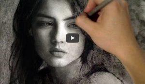 Huong dan ve chan dung than 300x174 - Hướng dẫn vẽ chân dung nữ
