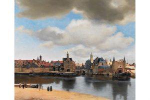 Vermeer view of delft 300x201 - Tầm quan trọng của khoảng trống – hay khoảng âm (negative space) trong tranh