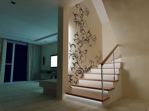 Warm House Ludilajt Painting Wall Design Theza architects 061 - Vẽ Tranh Tường Tiểu Cảnh