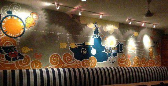 crab bar bali - Vẽ Tranh Tường Karaoke