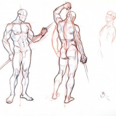 figure drawing without a model 2 by abdonjromero d5l2k4j 400x400 - Lớp Vẽ Hướng Nghiệp