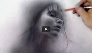 huong dan ve chan dung  300x173 - The Mist of a Dream – Portrait Art Video