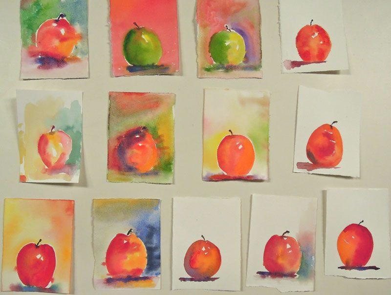 richards apples - Lớp Dạy Vẽ Thiếu Nhi