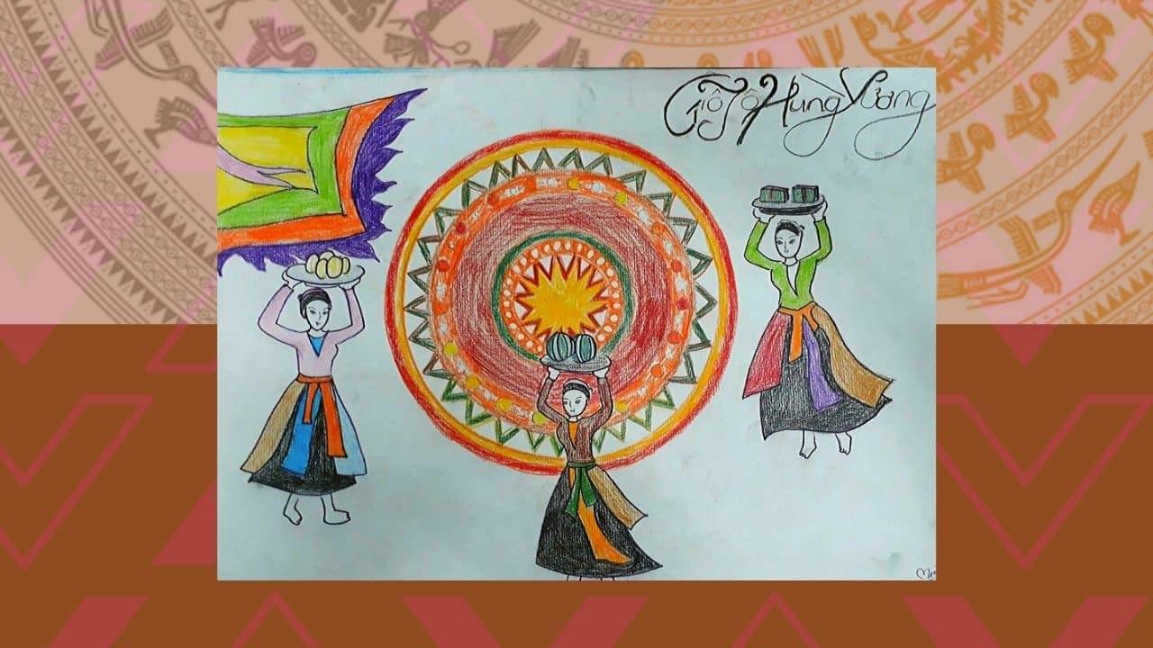 Cuộc thi vẽ tranh đề tài Hung Vương