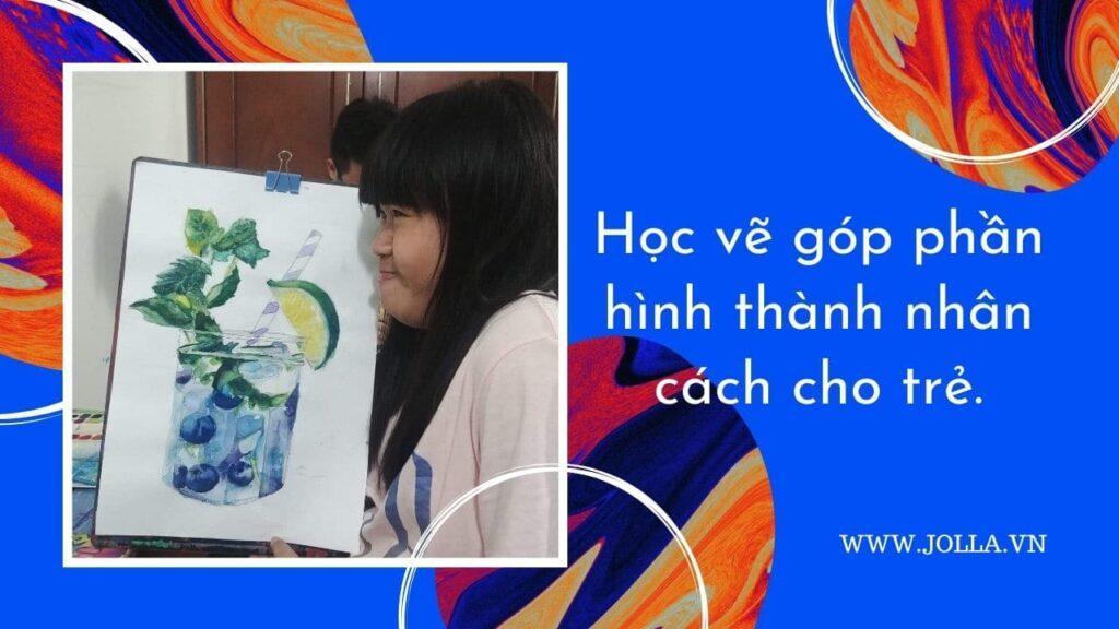 Học vẽ góp phần hình thành nhân cách cho trẻ