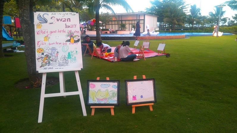 Buổi đi vẽ ở đô thị nghỉ dưỡng đẳng cấp quốc tế Swan Bay 7