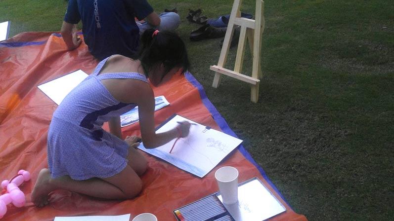 Buổi đi vẽ ở đô thị nghỉ dưỡng đẳng cấp quốc tế Swan Bay 8