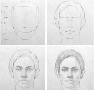 1 300x289 - Phương pháp vẽ người cơ bản