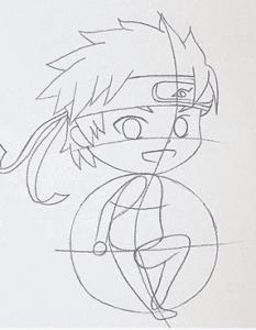 17 233x300 - Làm thế nào để vẽ Naruto huyền thoại?