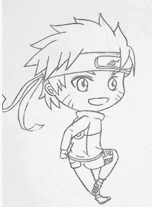 18 221x300 - Làm thế nào để vẽ Naruto huyền thoại?
