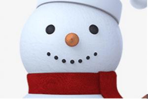 2 300x201 - Học vẽ người tuyết vui tươi