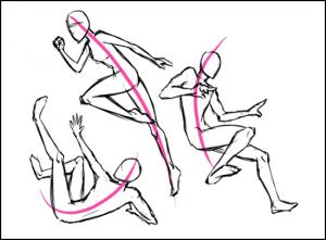 5 300x221 - Phương pháp vẽ người cơ bản