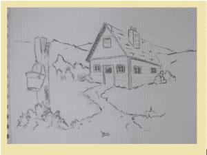 6 2 300x225 - Nghệ thuật vẽ tranh trắng đen bằng bút chì