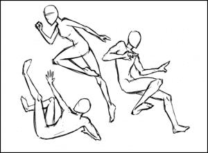6 300x221 - Phương pháp vẽ người cơ bản