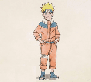 7 4 300x271 - Làm thế nào để vẽ Naruto huyền thoại?
