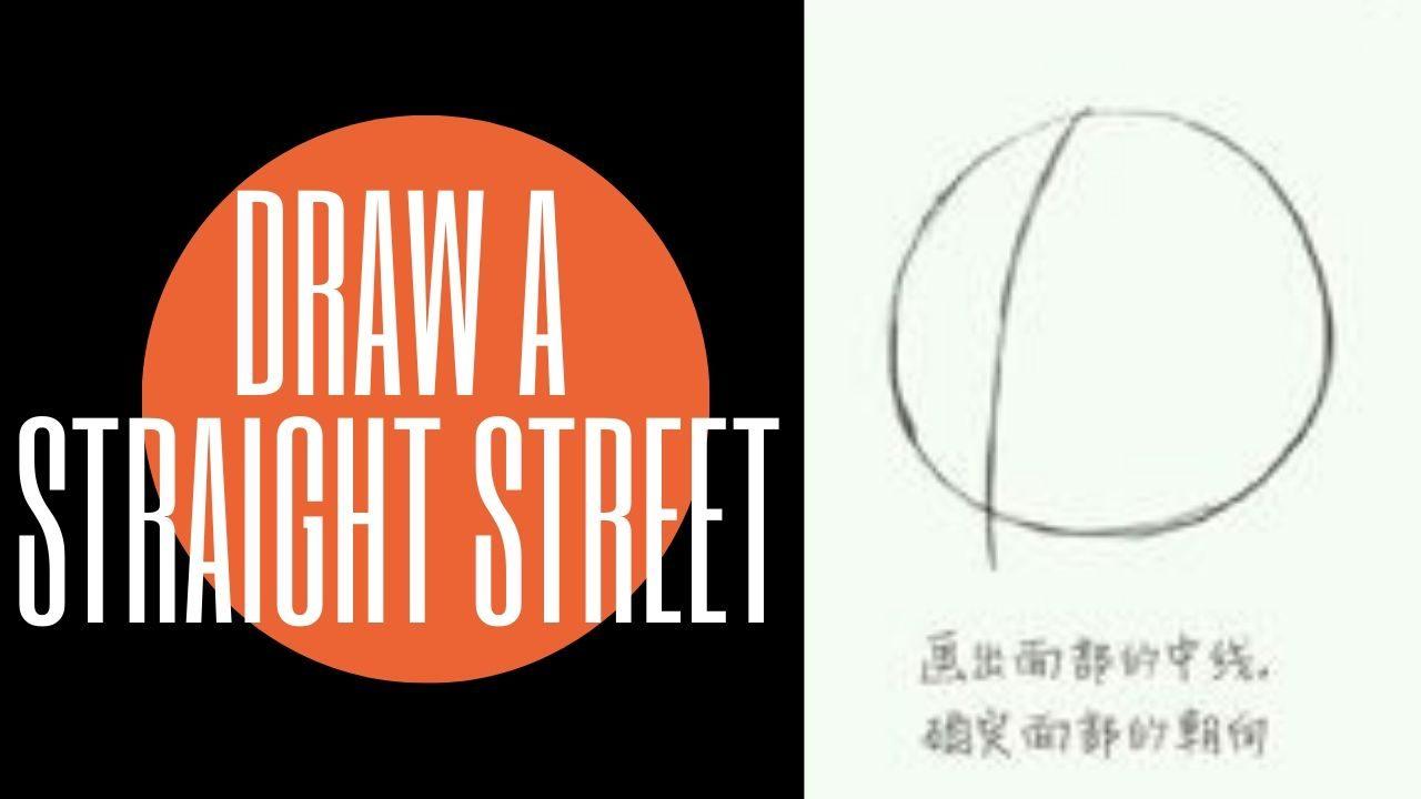 Cách vẽ chibi đơn giản : Vẽ đường kẻ