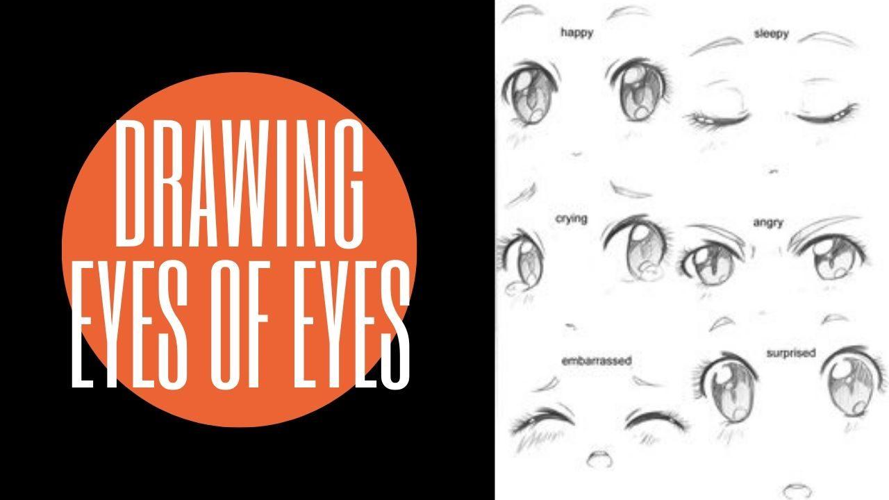 Cách vẽ chibi đơn giản : Vẽ kĩ mắt cho nhân vật