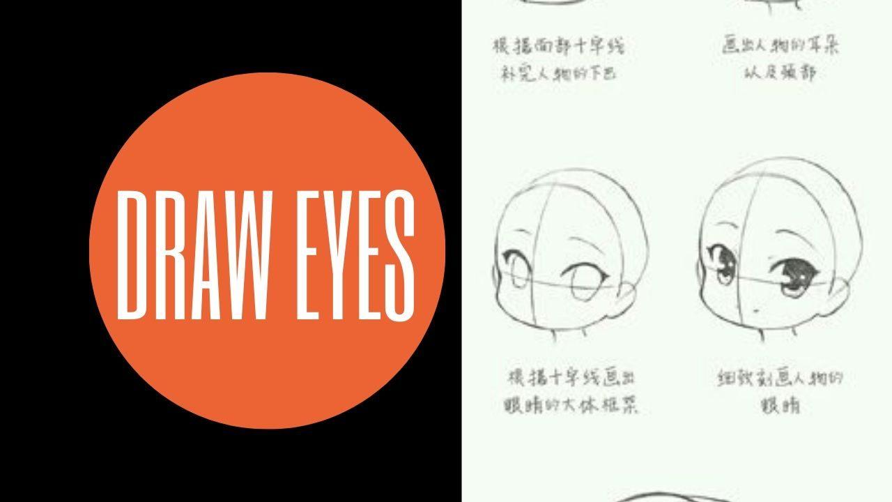 Cách vẽ chibi đơn giản : Vẽ mắt cho nhân vật