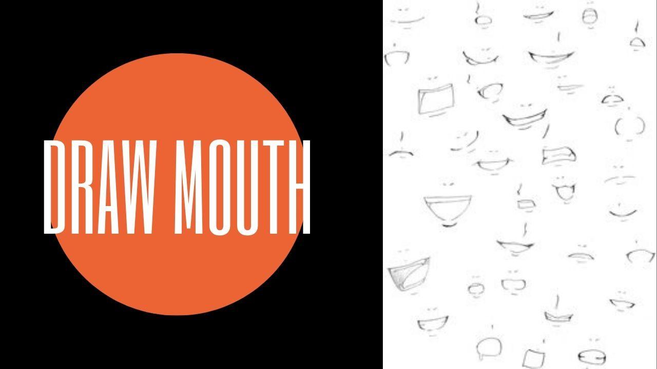 Cách vẽ chibi đơn giản : Vẽ miệng cho nhân vật