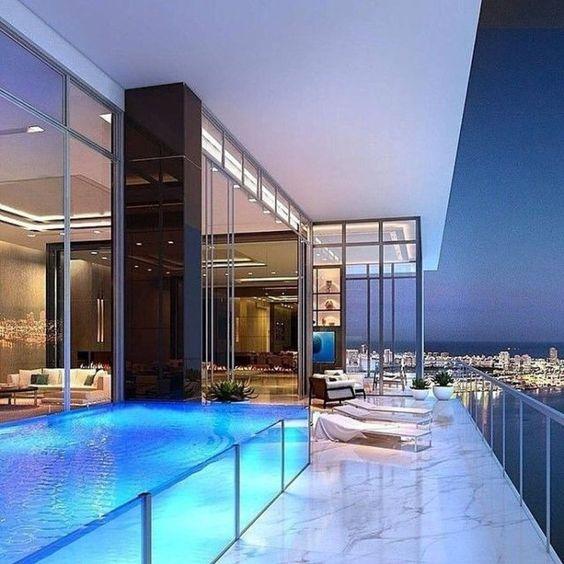 Penthouse phong cách hiện đại