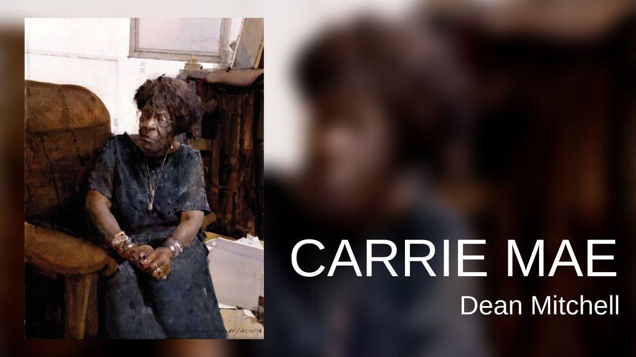 Carrie Mae-Dean Mitchell (nguồn internet)
