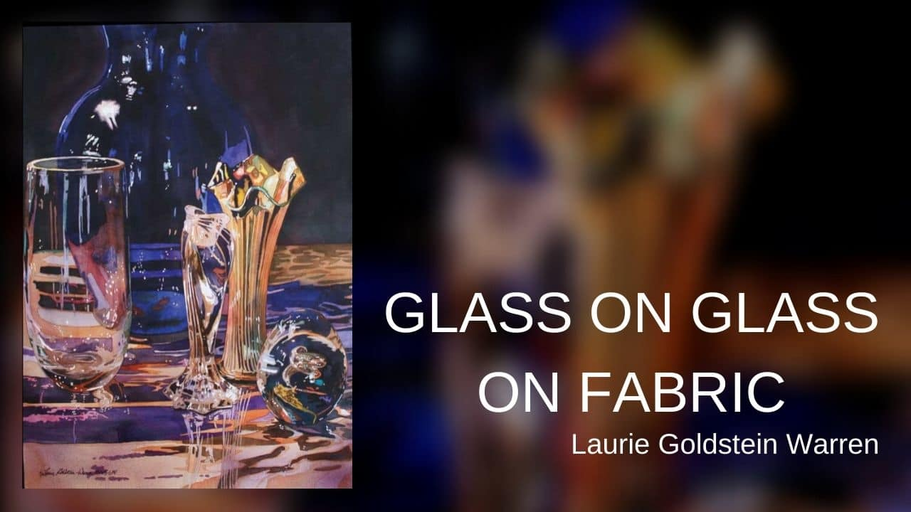 Glass on Glass on Fabric-Laurie Goldstein (nguồn internet)