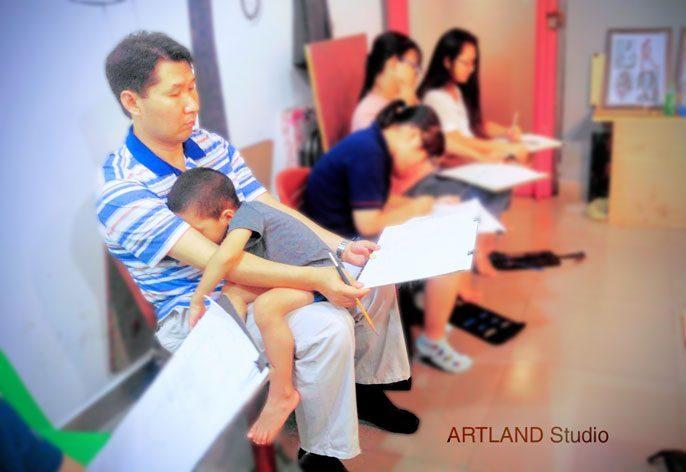 Lớp dạy vẽ người lớn tp hcm - Giới Thiệu Chương Trình Dạy Vẽ Chuyên Đề Mỹ Thuật Cho Người Lớn Tại TP. HCM